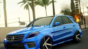 Mercedes-Benz ML63 AMG front view