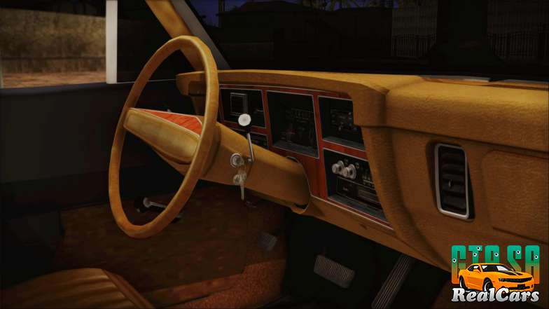 Dodge Dart 1975 interior