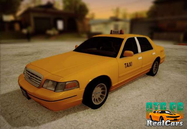 Ford Crown Victoria Taxi 2003 front view