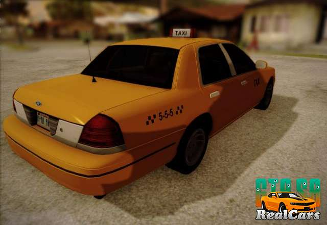 Ford Crown Victoria Taxi 2003 rear view
