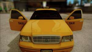 Ford Crown Victoria Taxi 2003 open doors