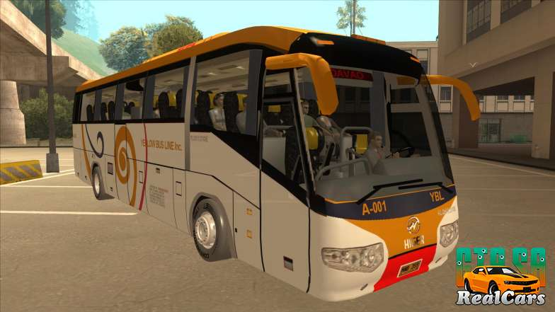 Higer KLQ6129QE - Yellow Bus Line A-001 - 2