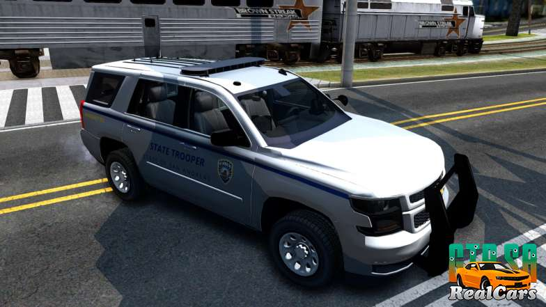 2015 Chevy Tahoe San Andreas State Trooper - 2