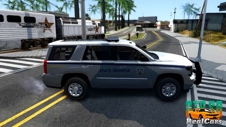 2015 Chevy Tahoe San Andreas State Trooper - 3