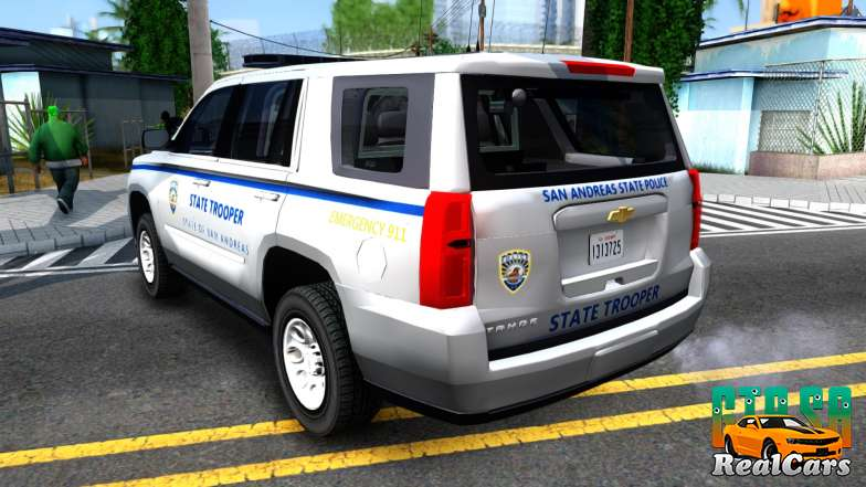 2015 Chevy Tahoe San Andreas State Trooper - 4