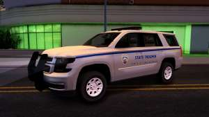 2015 Chevy Tahoe San Andreas State Trooper - 5